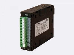 Digital input module BACnet PLC - M2.DIN.03 has 16 digital inputs 5 VDC with common pole. The first two digital inputs can be used as the counter inputs