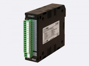 Digital output module BACnet PLC - M2.DOM.01 has 8 normally open relay outputs with LED indication of the state in the ouput circuit