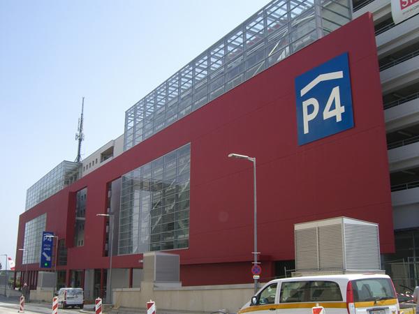 Public Garages, Parkhaus 4, Vienna