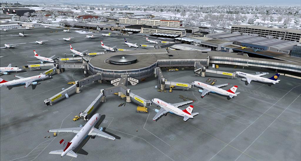 Aeroporto Vienna : Skylink vienna airport austria