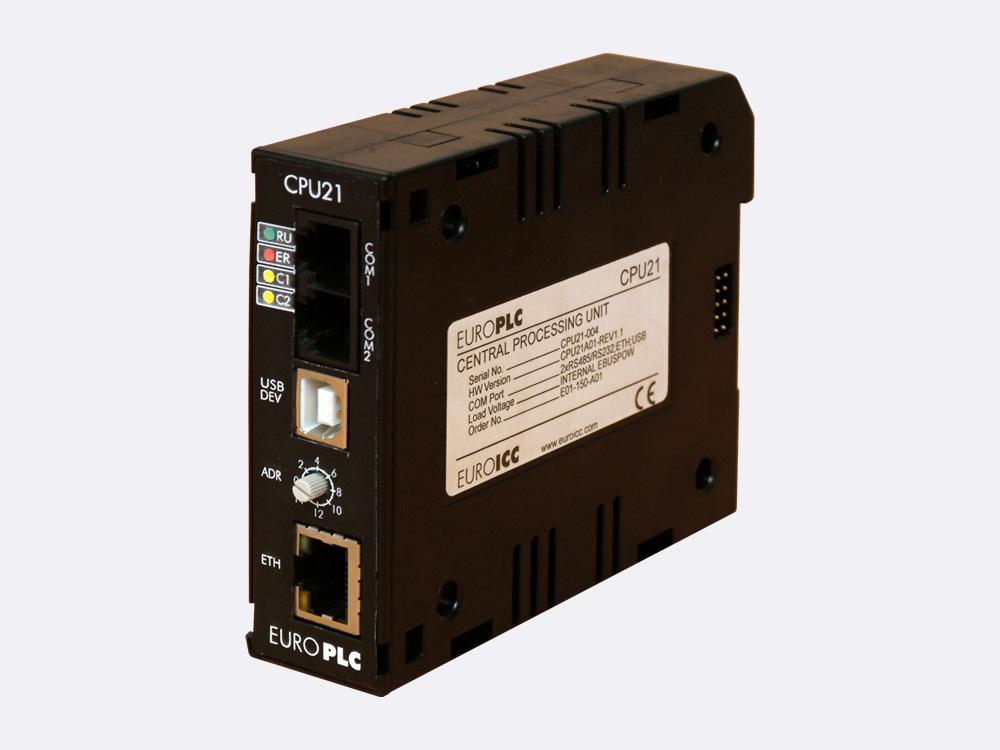 Bacnet Plc M4 Cpu 21 Euroicc