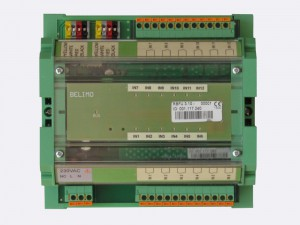 RBFU 3.10 has 12 digital inputs. It is mountable on DIN rail. Inputs are potential free contacts. The unit is connected to the Ringbus master controller via a 4 wire ring bus communication