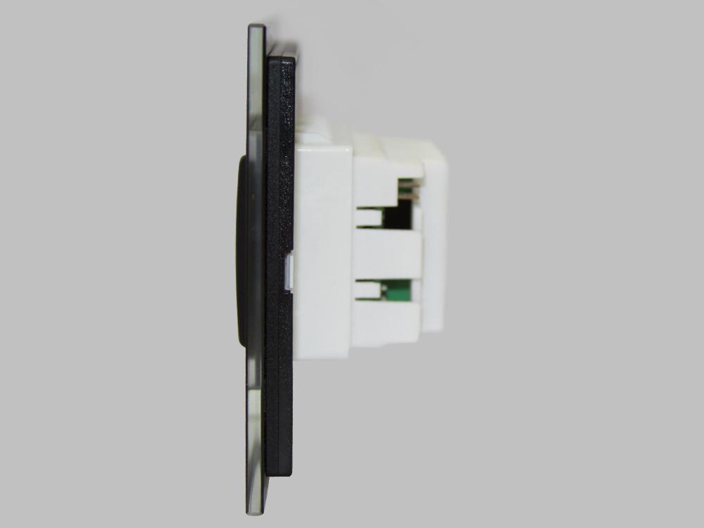 Programmable card holder device designed for hotels