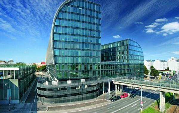Bürogebäude Rivergate Vienna, Austria