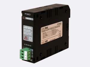 The BACnet PLC - M1.POW.01 power supply module is designed to convert electric power from the public home/indoor electric grid to voltage-stabilized DC power which is necessary for stable operation of EUROPLC devices. BACnet PLC - M1.POW.01 power supply module is implemented as a switch mode power supply (chopper) with built-in galvanic isolation.