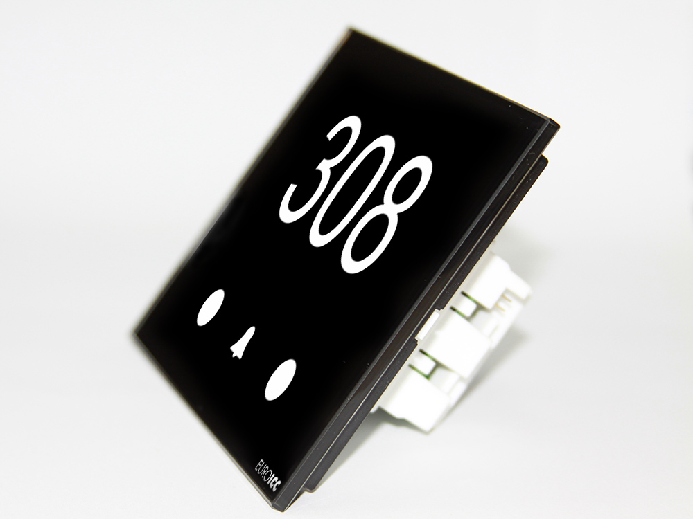Programmable card reader device designed for hotels - RG.CSA.01