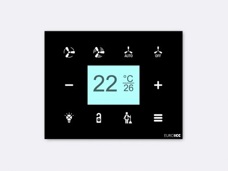 Customizable Intelligent Room Thermostat - RG.RDA.10