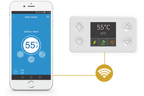 Smart Thermostat for Electric Water Heaters - EST-100 - Connectivity