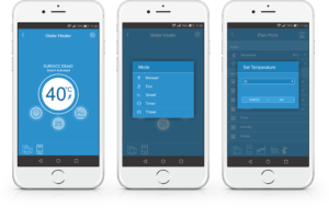 Smart Thermostat for Electric water heaters - Android and iOS mobile apps