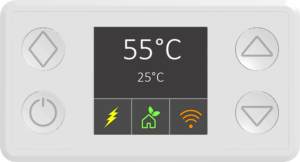 Smart Thermostat for Electric water heaters - Display and digital control
