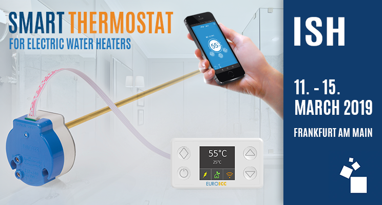 Smart Water Heater Thermostat Solutions at ISH 2019 | EUROICC